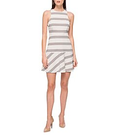 Jessica Simpson Stripe Flounce Dress