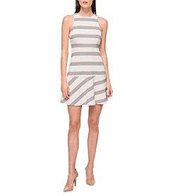 Jessica Simpson Stripe Flounce Dress
