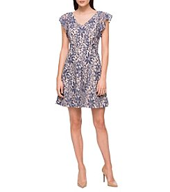 Jessica Simpson Floral Lace Dress