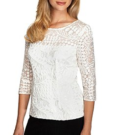 Alex Evenings® Lace Blouse
