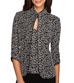 Alex Evenings® Twinset Jacket Top