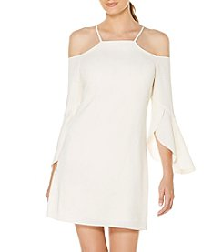 Laundry by Shelli Segal® Flutter Sleeve Dress