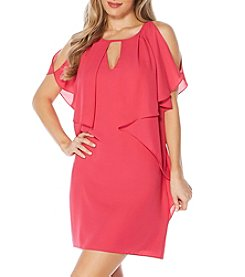 Laundry by Shelli Segal® Drapey Sleeve Shift Dress