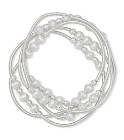 Nine West® Five Stretch Bracelet Set