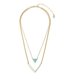 Vera Bradley® Triangle Double Necklace