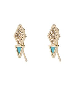 Vera Bradley® Triangle Stud Earrings