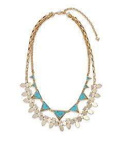 Vera Bradley® Triangle Double Statement Necklace