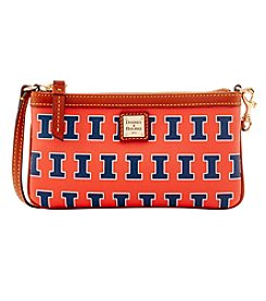 Dooney & Bourke® NCAA® Illinois Fighting Illini Large Wristlet