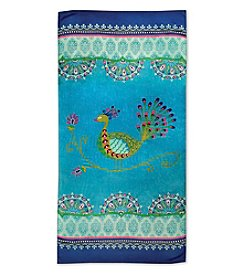 Dena™ Bali Peacock Beach Towel