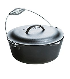 Lodge® 7 Quart Seasoned Cast Iron Dutch Oven