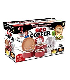 As Seen on TV Red Copper™ 10-Pc. Cookware Set
