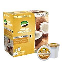 Keurig® K-Cup 18-Ct. Green Mountain Coffee Island Coconut
