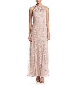 NW Collections Roller Glitter Lace Dress