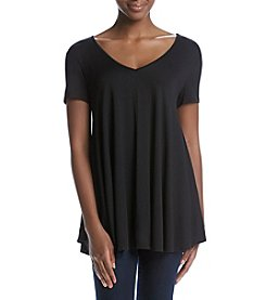 Chelsea & Theodore® Swing V-Neck Knit Top