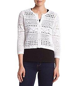 Jeanne Pierre® Crochet Cardigan