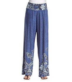Melissa Paige Smocked Waist Knit Pants