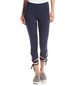 Calvin Klein Performance Wrap Around Tie Capri