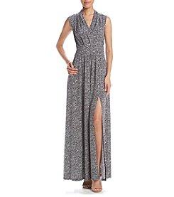 MICHAEL Michael Kors® Printed Slit Maxi Dress