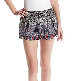 Hippie Laundry Americana Print Soft Shorts