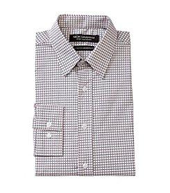Nick Graham® Pink Diamond Print Dress Shirt