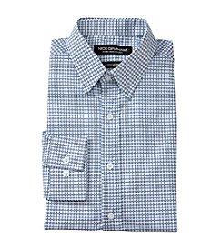 Nick Graham® Blue Diamond Dress Shirt