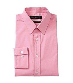 Nick Graham® Pink Pindot Print Dress Shirt