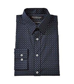Nick Graham® Black Diamond Print Dress Shirt