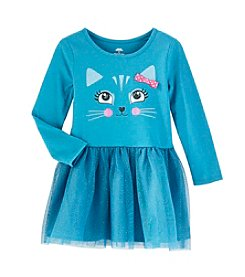 Mix & Match Girls' 4-6X Kitty Tulle Dress