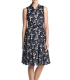 Ivanka Trump® Floral Shirt Dress