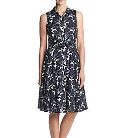 Ivanka Trump® Floral Shirt Dress