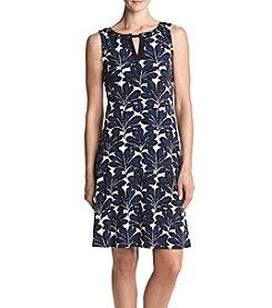 Ivanka Trump® Floral Jersey Dress