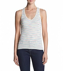 Splendid® Stripe Rib Knit Tank