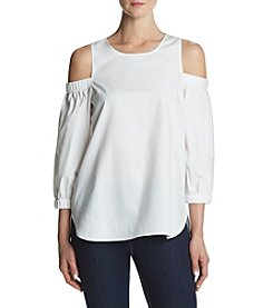 Calvin Klein Cold Shoulder Blouse