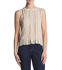 Tommy Hilfiger® Pleat Blouse