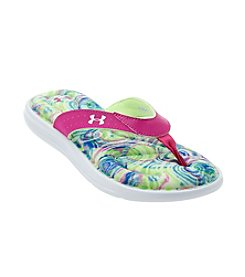 Under Armour® Girls' Marbella Marble Flip Flops