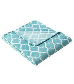 Madison Park Ogee Oversized Plush Throw