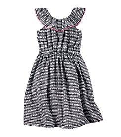 Carters® Girls' 2T-4T Geo Print Maxi Dress