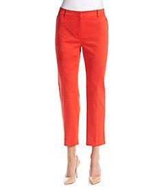 Jones New York® Grace Slit Hem Ankle Pants