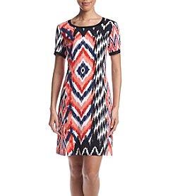 Jones New York® Printed Knit Dress