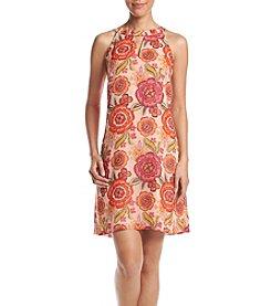 Taylor Dresses Floral Printed Shift Dress