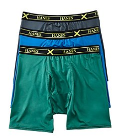 Hanes® Ultimate Extreme Performance 3-Pack Boxer Briefs