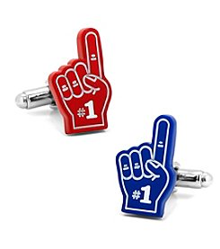 Cufflinks Inc. 3D #1 Foam Sports Fan Fingers Cufflinks