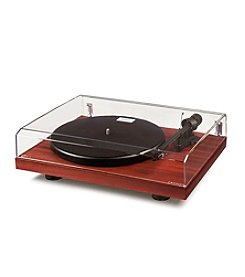 Crosley® C10 2-Speed Manual Turntable Deck Mahogany