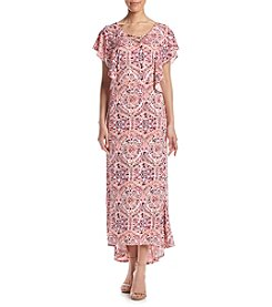 Studio Works® Flutter Sleeve Maxi Dress