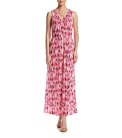 Studio Works® Keyhole Printed Maxi Dress