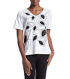 Alfred Dunner® Floral T-Shirt