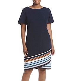 Prelude® Plus Size Tulip Hem Dress