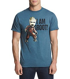 Mad Engine Men's Groot Shout Graphic Tee