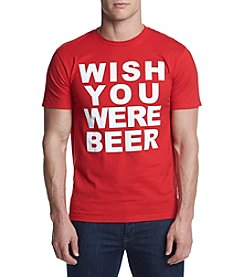 Mad Engine Men's Beer Wish Graphic Tee