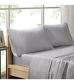 Sleep Philosophy 300-Thread Count Pima Liquid Cotton Sheet Set